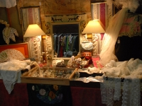 Lovely stall of lace and things