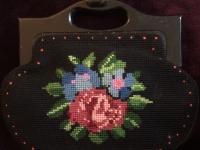 Vintage Tapestry Handbag (2)