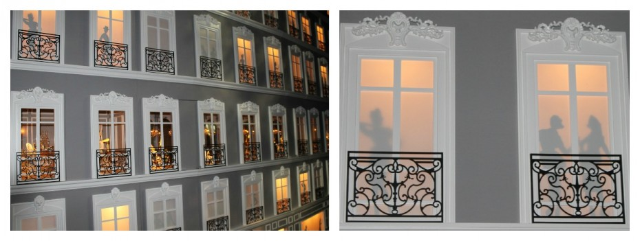 Mini facade Avenue Montaigne store