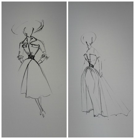 Dior - Original Sketches