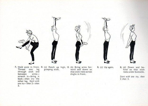 Exercise for the housewife 2