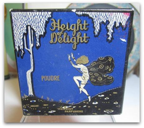 puffadonna face powder box Henriot Perfumers