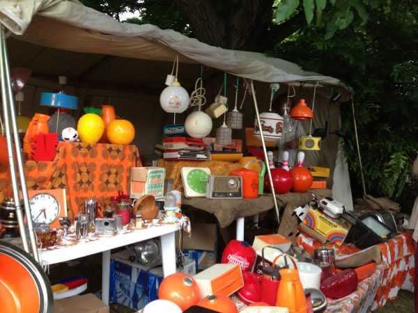 A stall at Lille Braderie