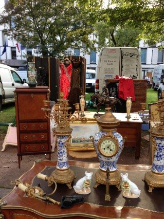 A stall at Braderie Lille