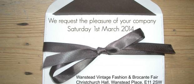 invitation 1st March