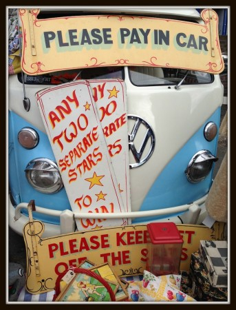 please pay in car