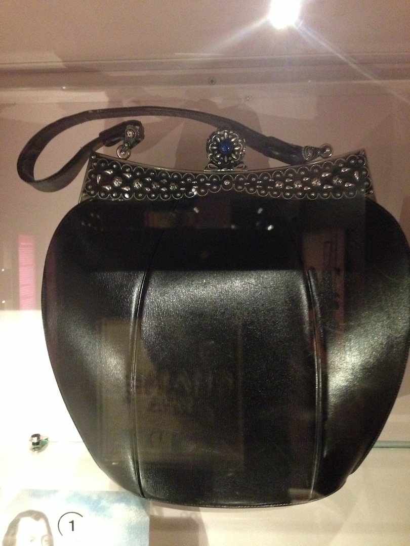 Leather handbag Schiaparelli 1950s