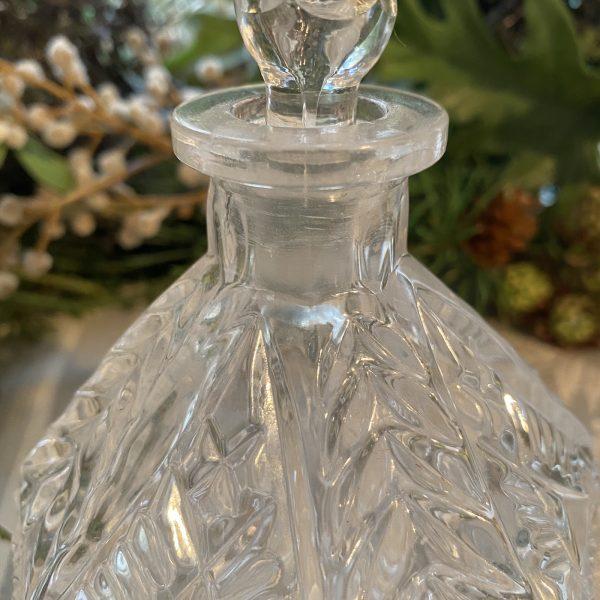 Close Up Vintage Perfume Bottle