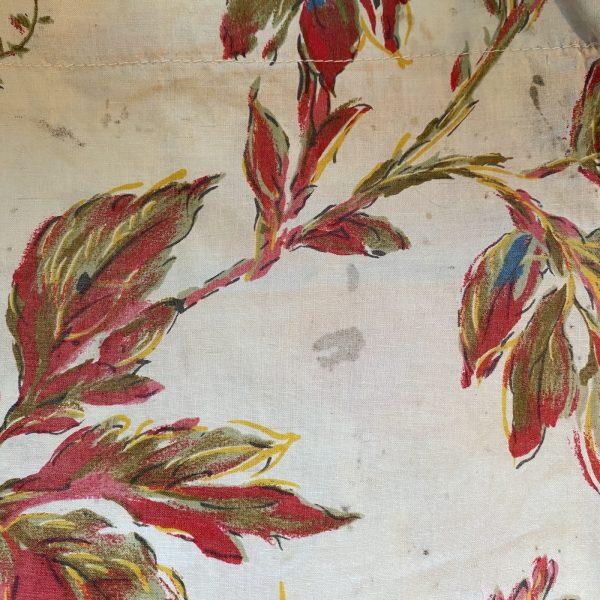 Vintage Floral Fabric Marks
