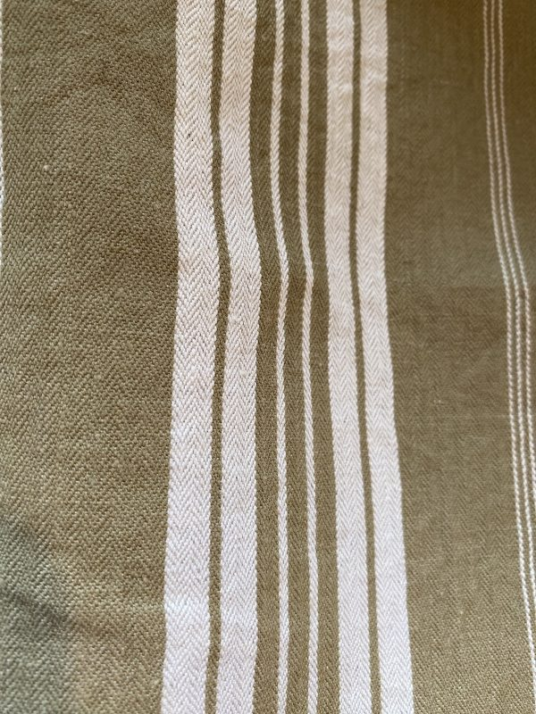 Detail French Brown Ticking