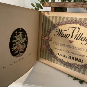 Mon Village Vintage Book
