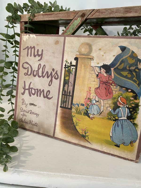 Antique Book My Dolly's Home