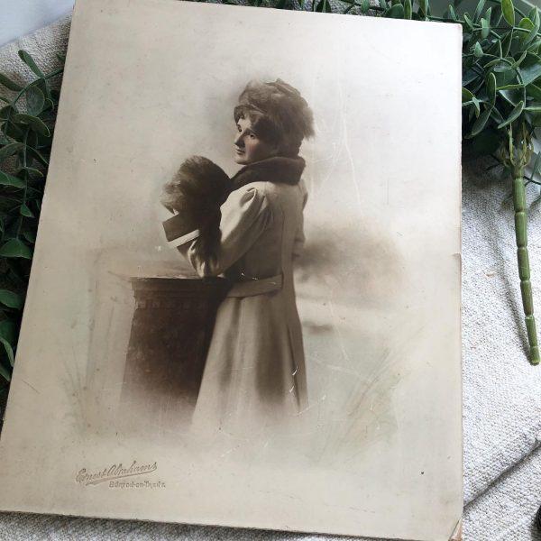 Sepia Portrait photograph