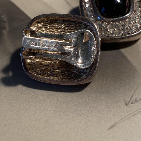 Christian Dior Signed back