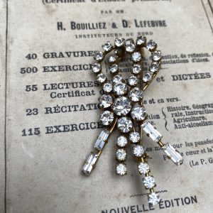 Diamanté Brooch