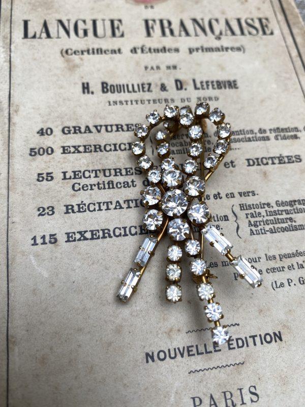 Diamanté Brooch