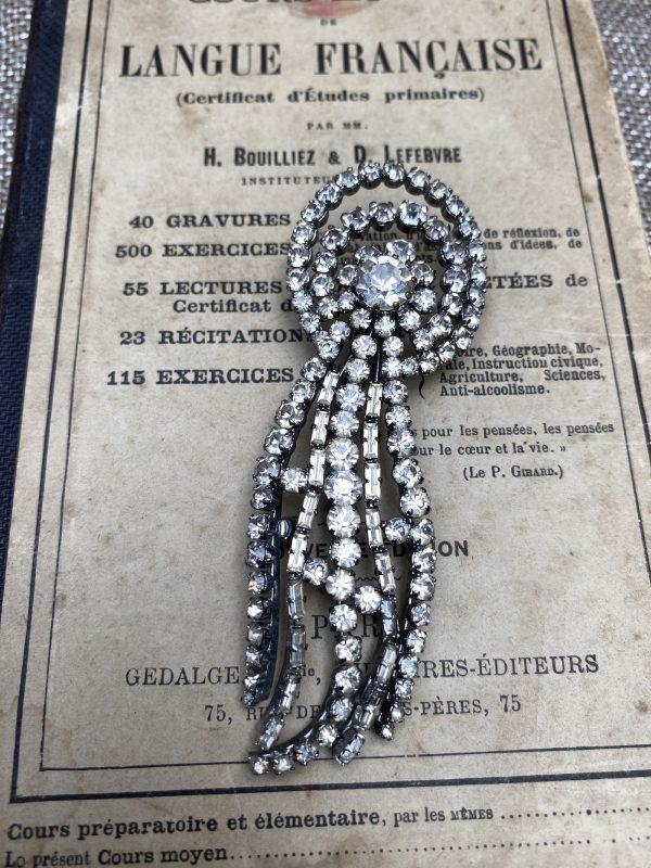 Vintage Diamanté Brooch