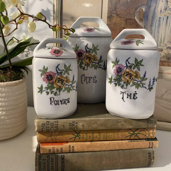 French Ceramic Storage Pots
