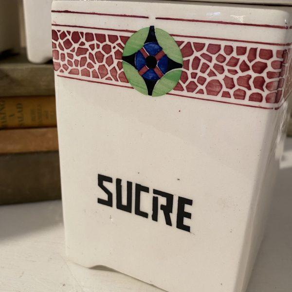 Sucre French ceramic kitchen storage