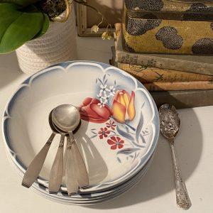 Vintage Digoin Sarreguemines Bowls