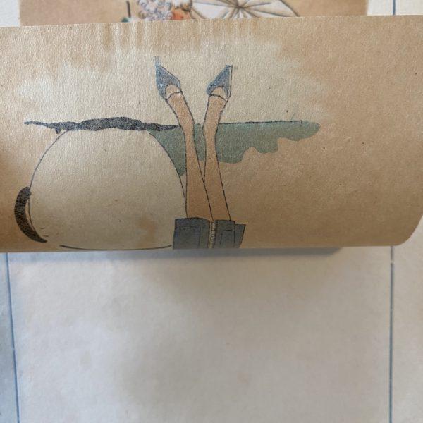 Lucien Lelong Tissue Print